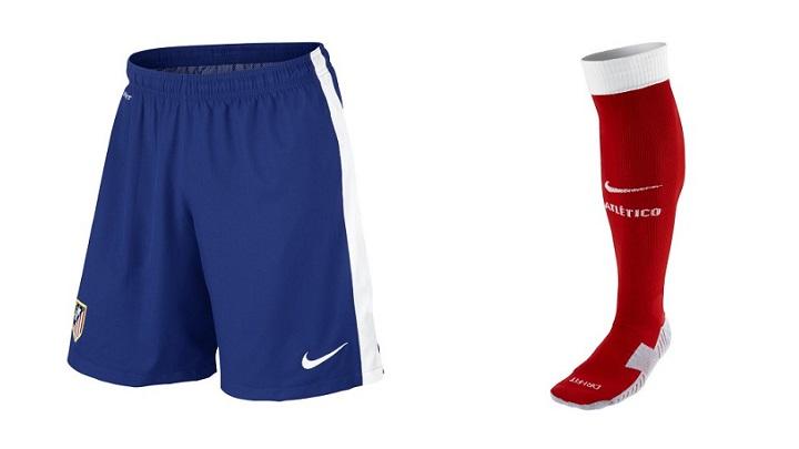pantalones y medias atletico de madrid 2014-2015