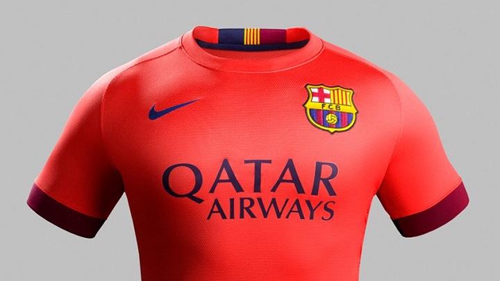 Segunda camiseta del bar 231 a para la temporada 2014 2015