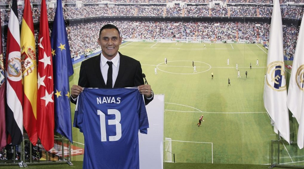 Keylor Navas Real Madrid 2