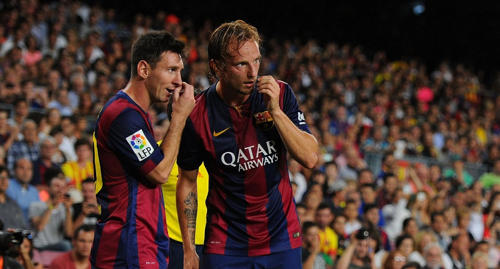 Messi y Rakitic