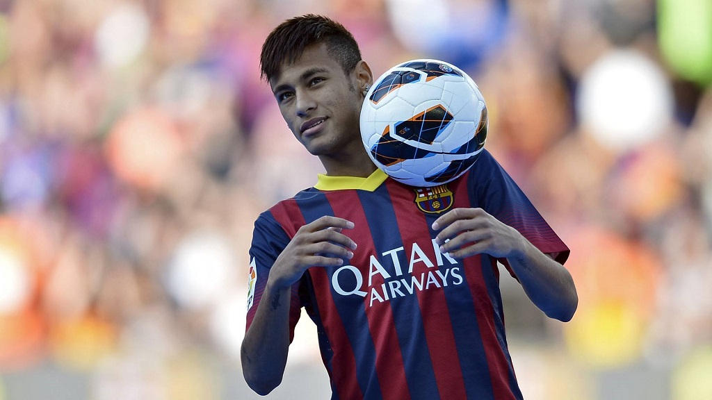 Neymar balon de futbol