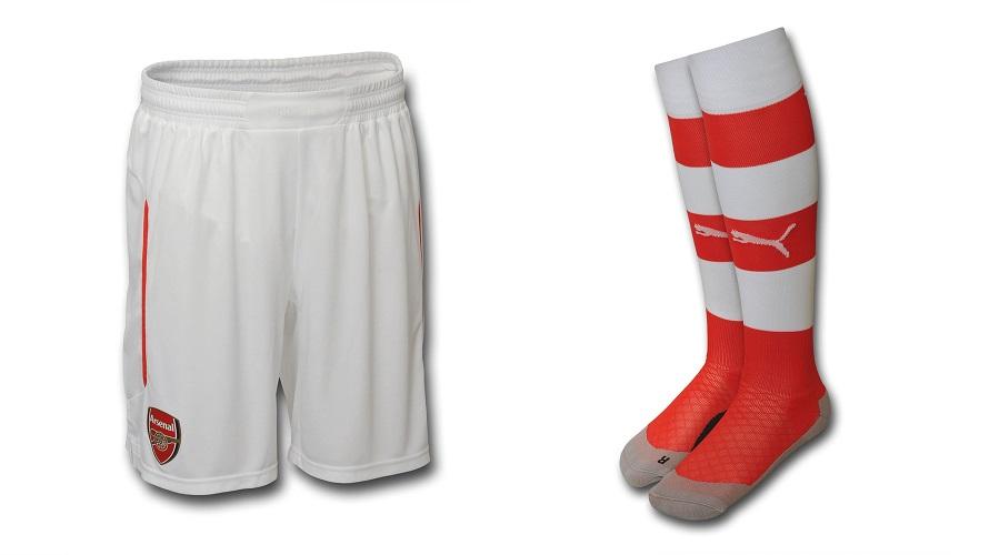 Pantalones y medias Arsenal 2014-2015