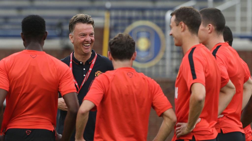 Van Gaal jugadores Manchester