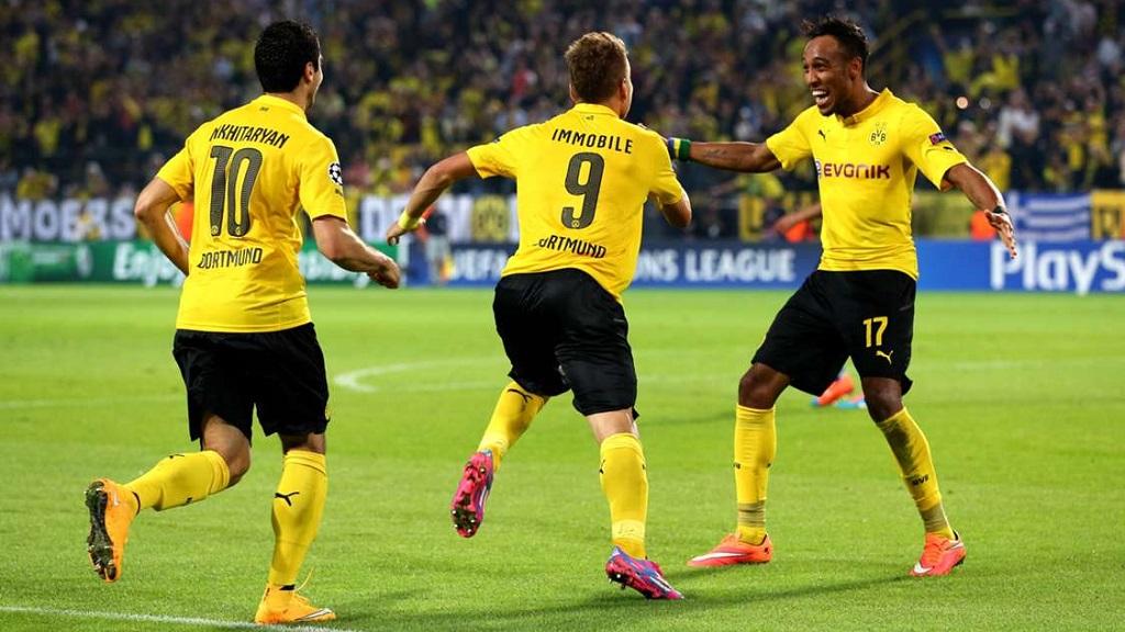 Borussia Dortmund Arsenal Champions