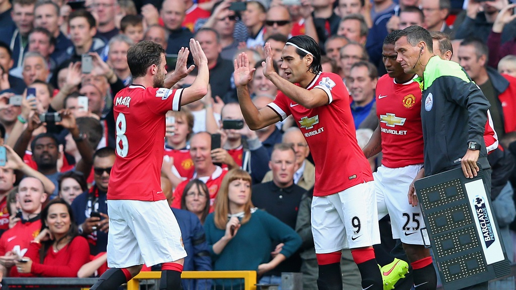 Debut Falcao Manchester United