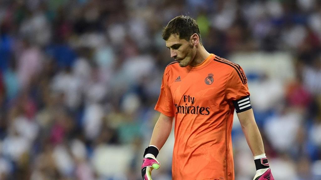 Iker Casillas preocupado