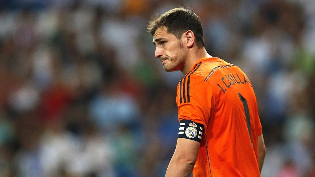 Iker Casillas triste