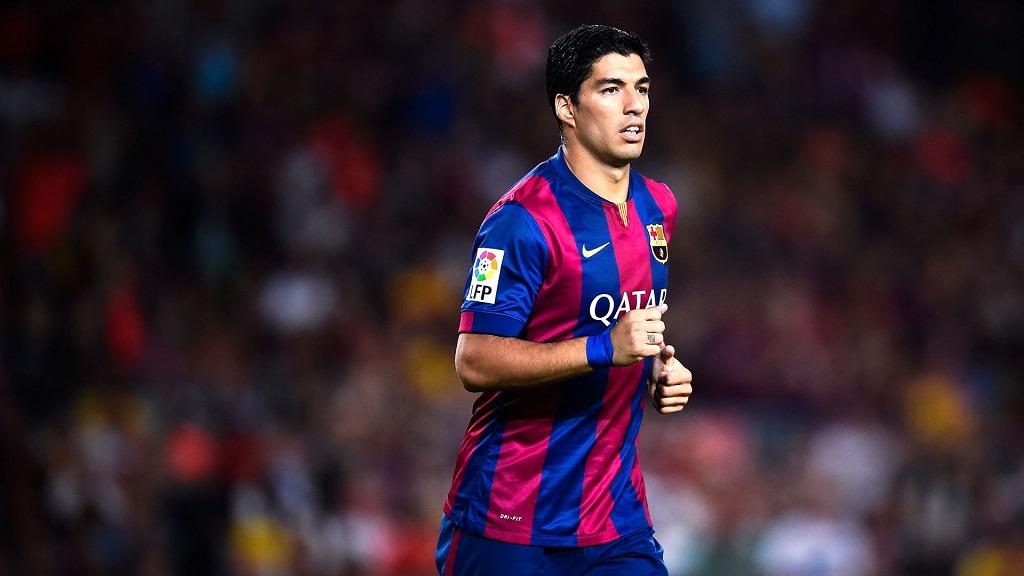 Luis Suarez con la camiseta del Barcelona