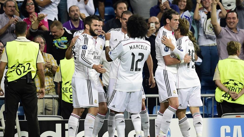 Madrid gol Basilea