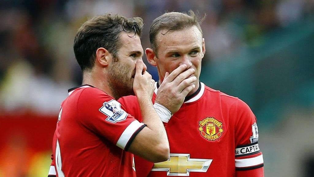 Mata y Rooney