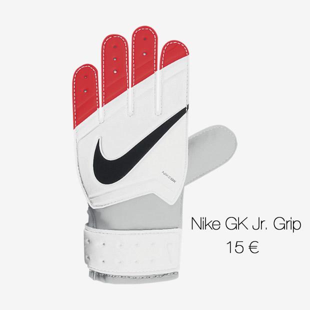 Nike GK Jr Grip - 15 euros