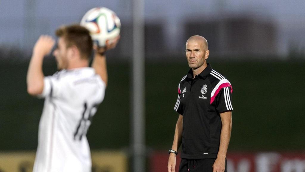 Zidane Madrid Castilla 2