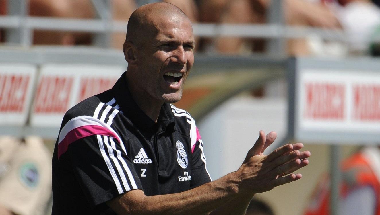 Zidane entrenador del Castilla