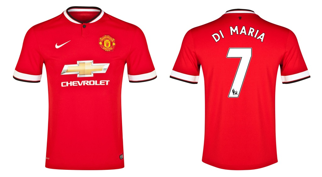 camiseta Manchester United Angel Di Maria