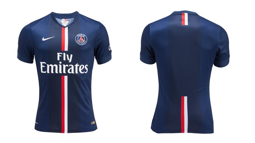 Camiseta del PSG para la temporada 2014-2015 c0a6582571122
