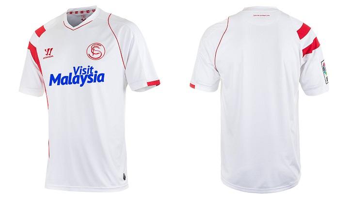 camiseta del Sevilla temporada 2014-2015