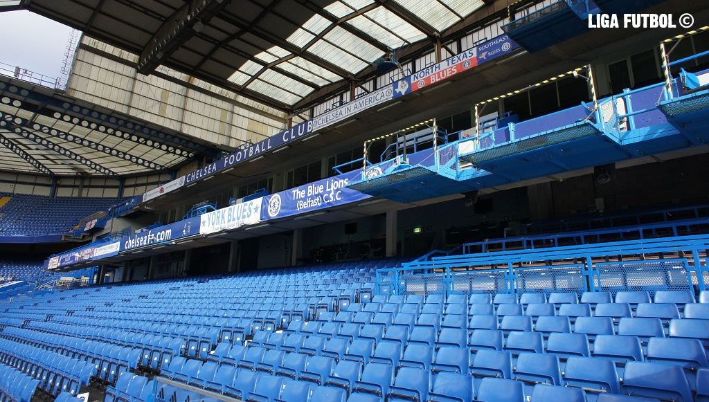 gradas Stamford Bridge