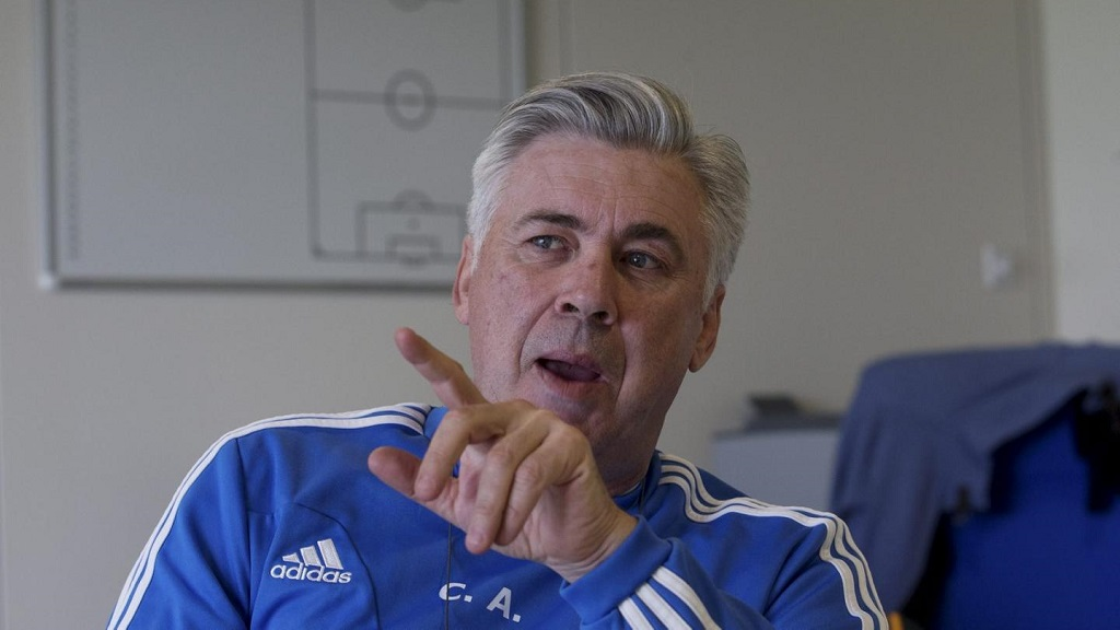 Carlo Ancelotti hablando