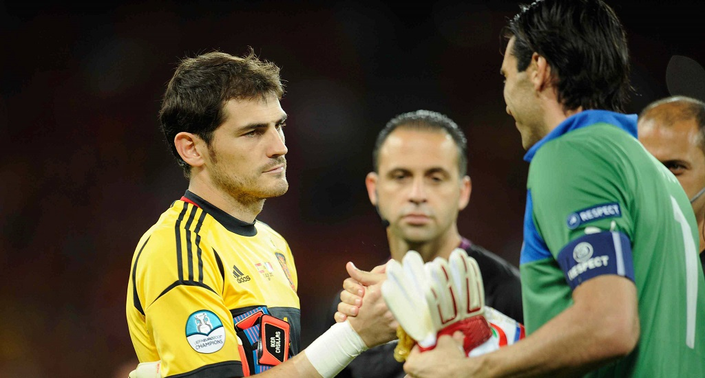 Casillas y Buffon