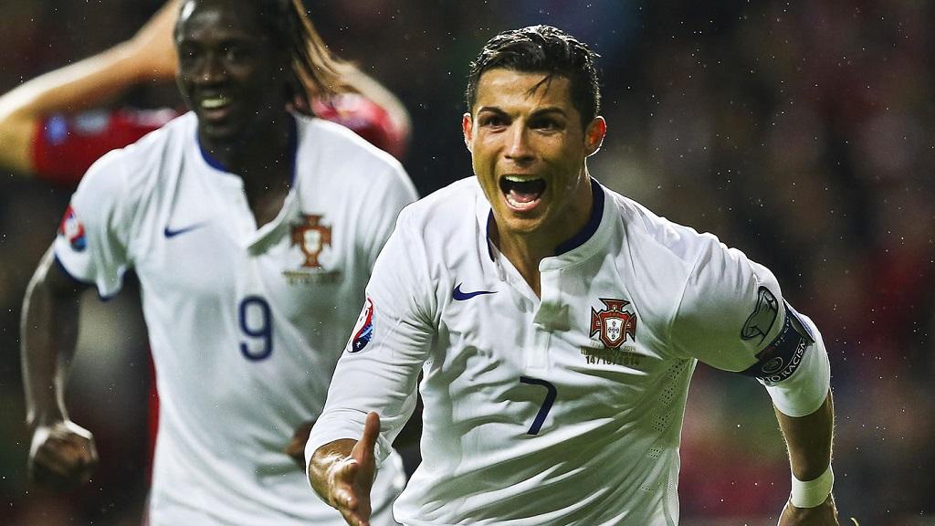 Cristiano Ronaldo Portugal Dinamarca