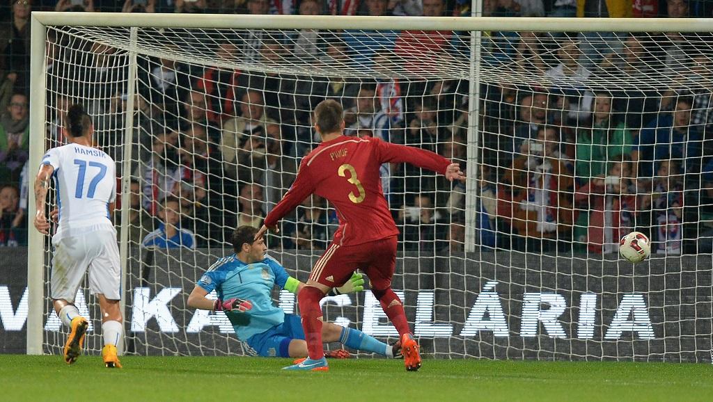 Iker Casillas Eslovaquia