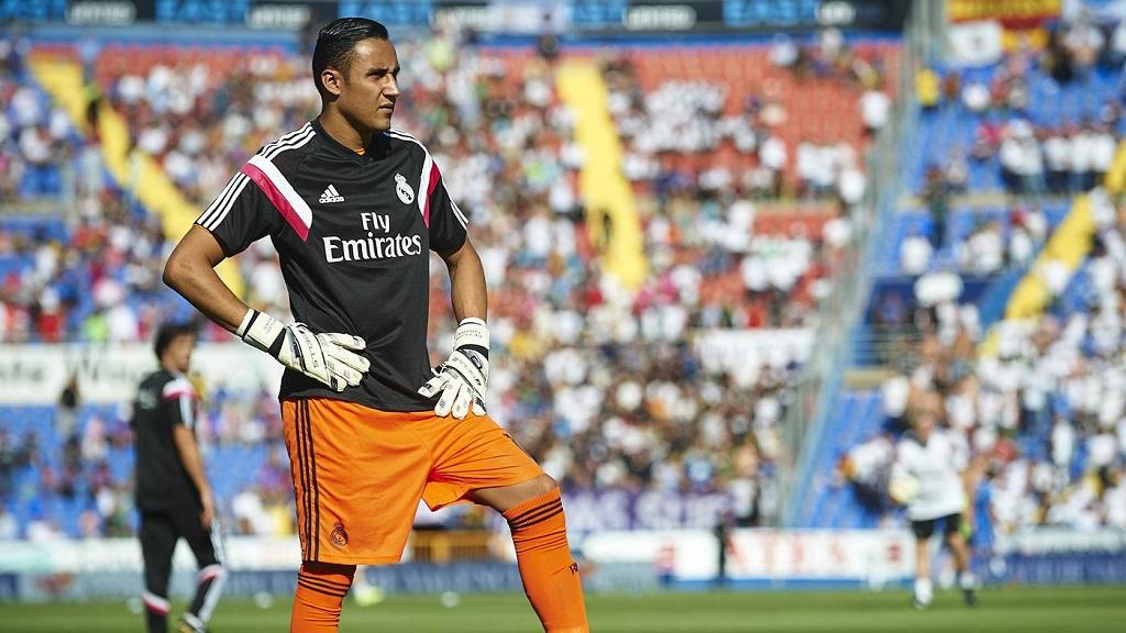 Keylor Navas Real Madrid suplente