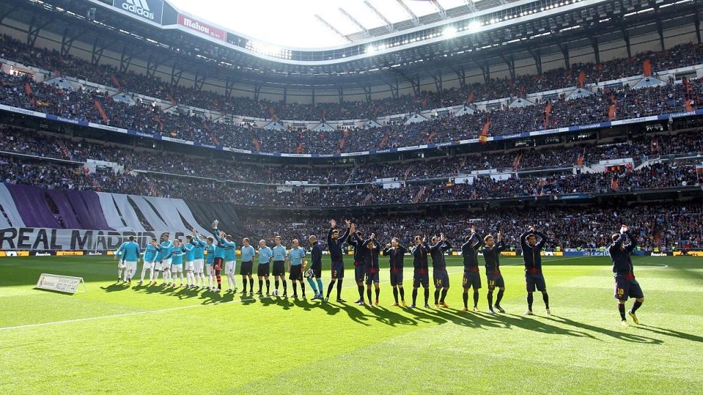 Madrid Barcelona Bernabeu