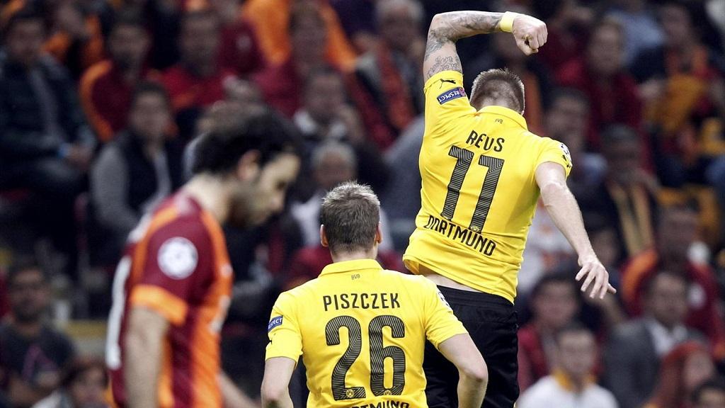 Marco Reus celebrando un gran gol