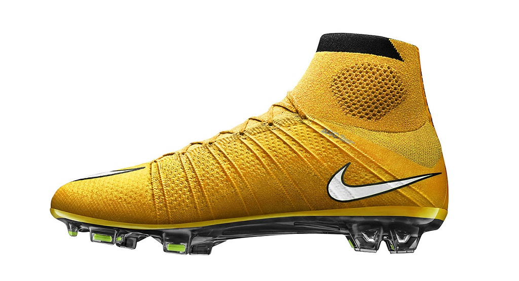 Nike Mercurial Superfly SG-Pro amarilla