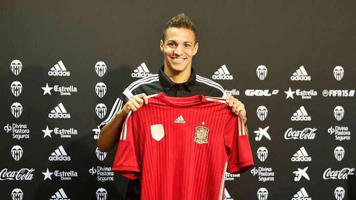 Rodrigo camiseta seleccion