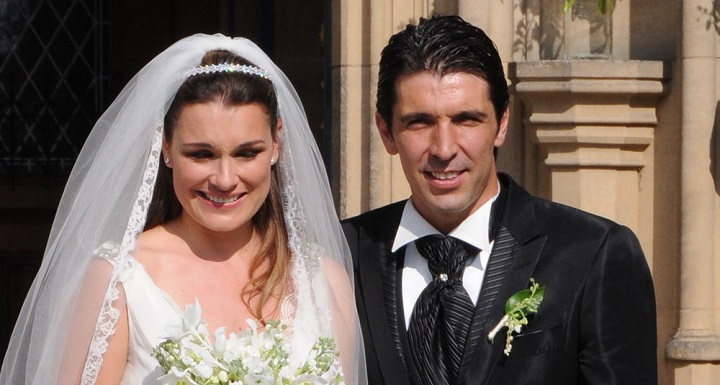 Alena Seredova y Gianluigi Buffon