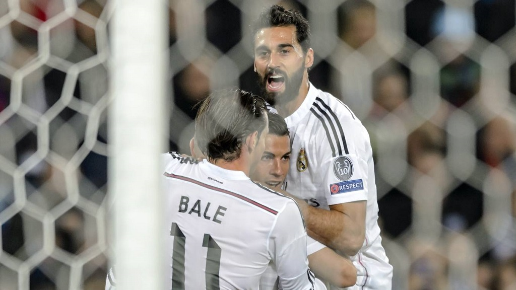 Arbeloa Cristiano y Bale
