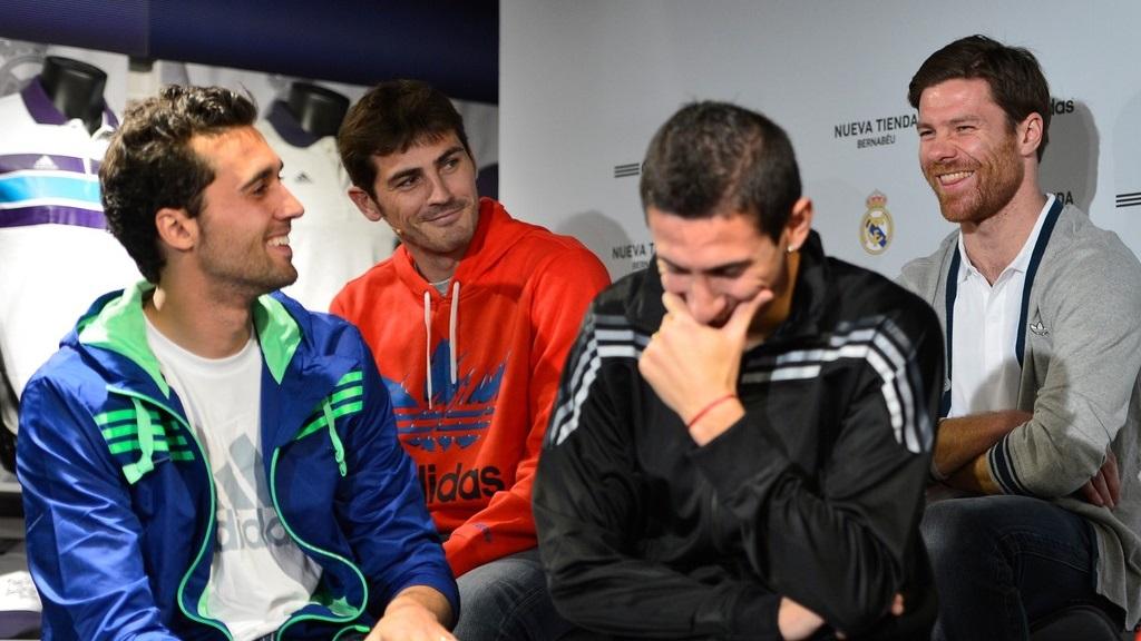 Casillas Alonso, Arbeloa y Di Maria