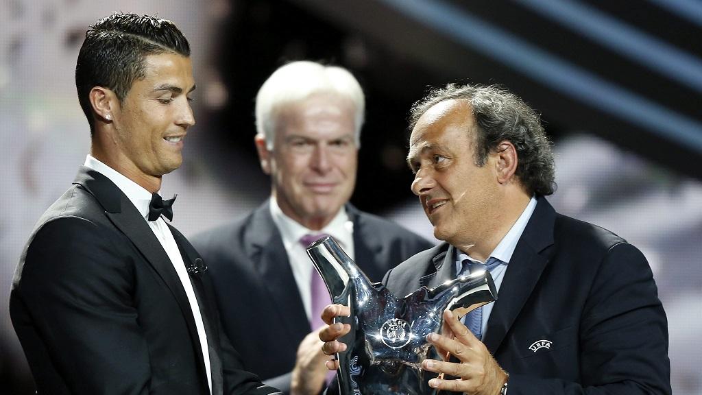 Cristiano Ronaldo Platini