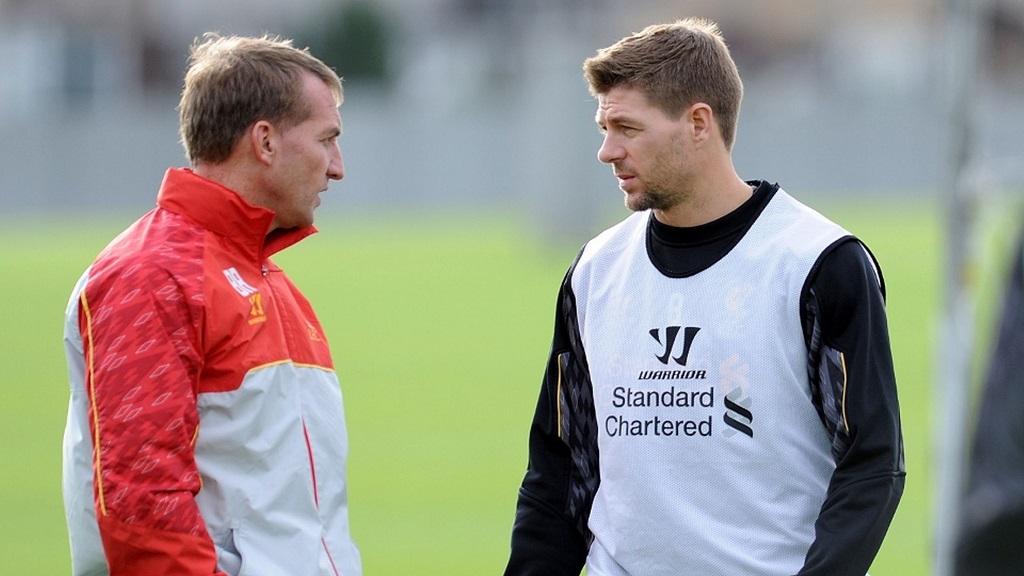 Gerrard y Rodgers