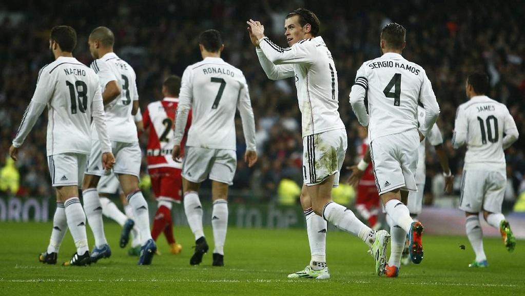 Gareth Bale celebracion