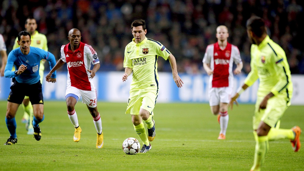 Messi Ajax