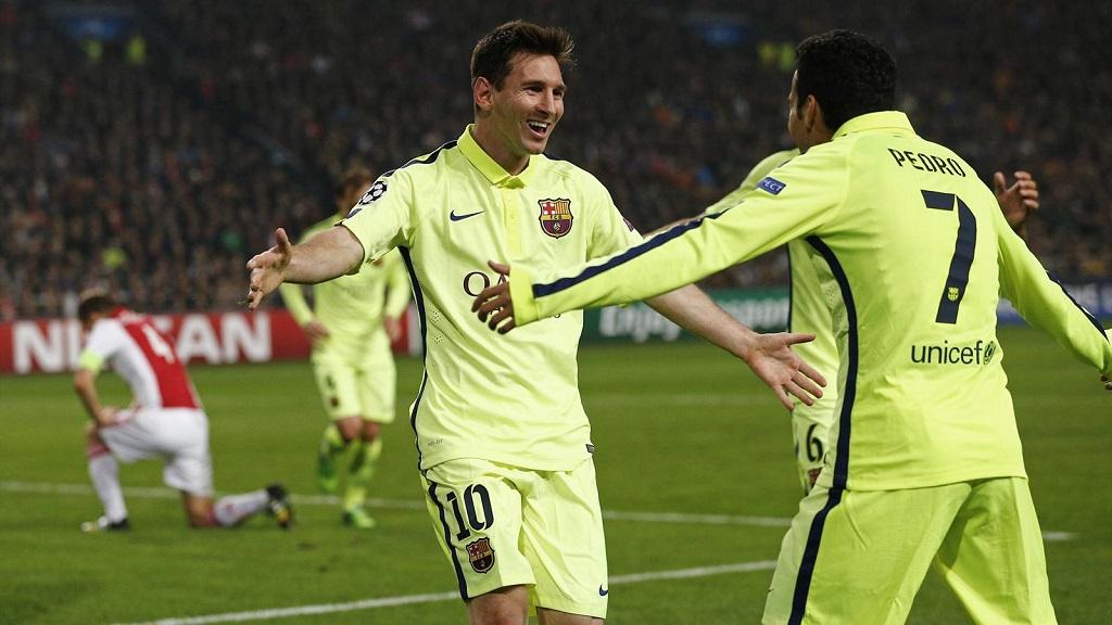 Messi y Pedro
