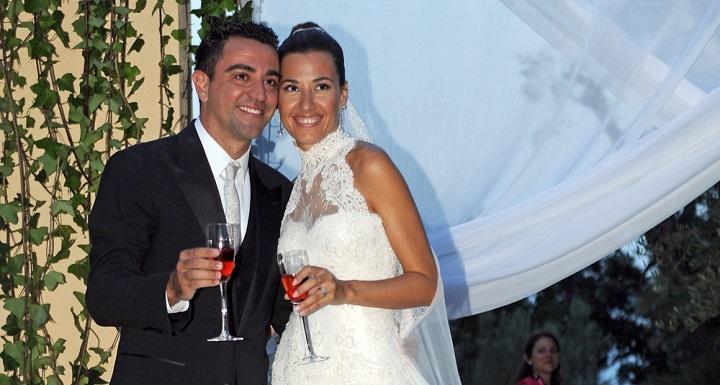 Nuria Cunillera y Xavi Hernandez