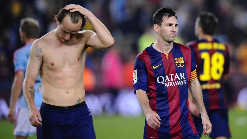 Rakitic y Messi