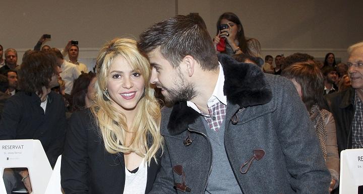 Gerard Pique y Shakira