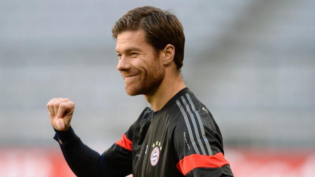 Xabi Alonso Bayern entrenamiento