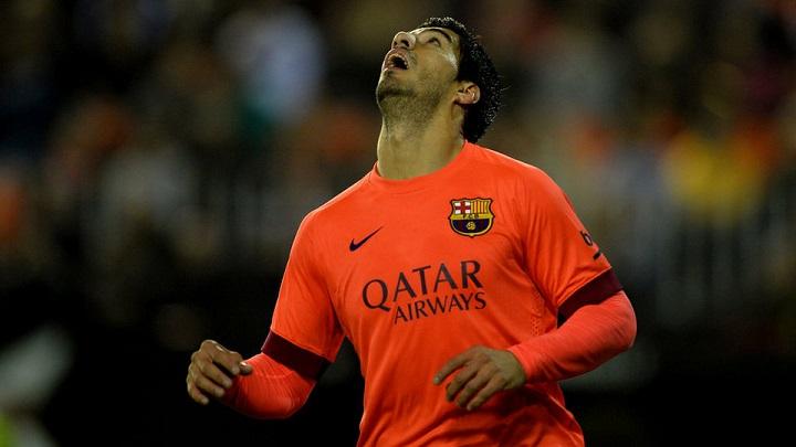 Luis Suarez Barcelona Mestalla