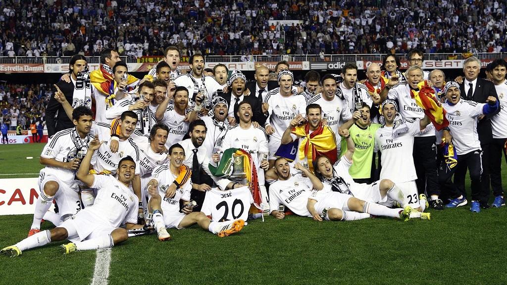 Madrid Copa del Rey