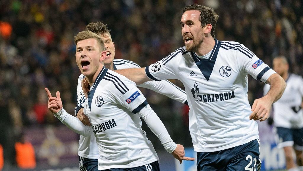 Schalke 04 Max Meyer gol