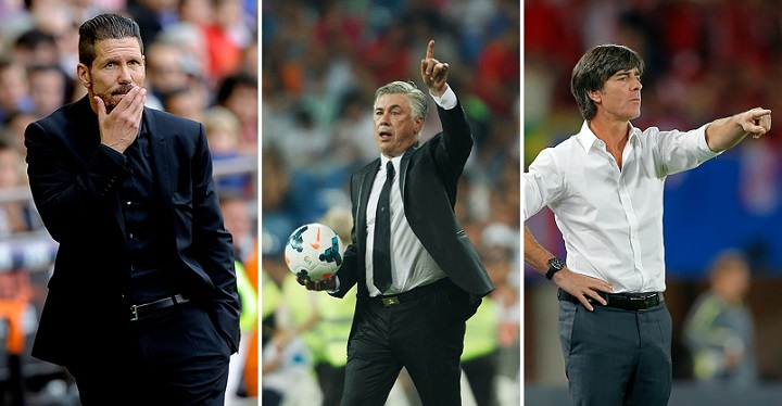 Simeone Ancelotti y Low