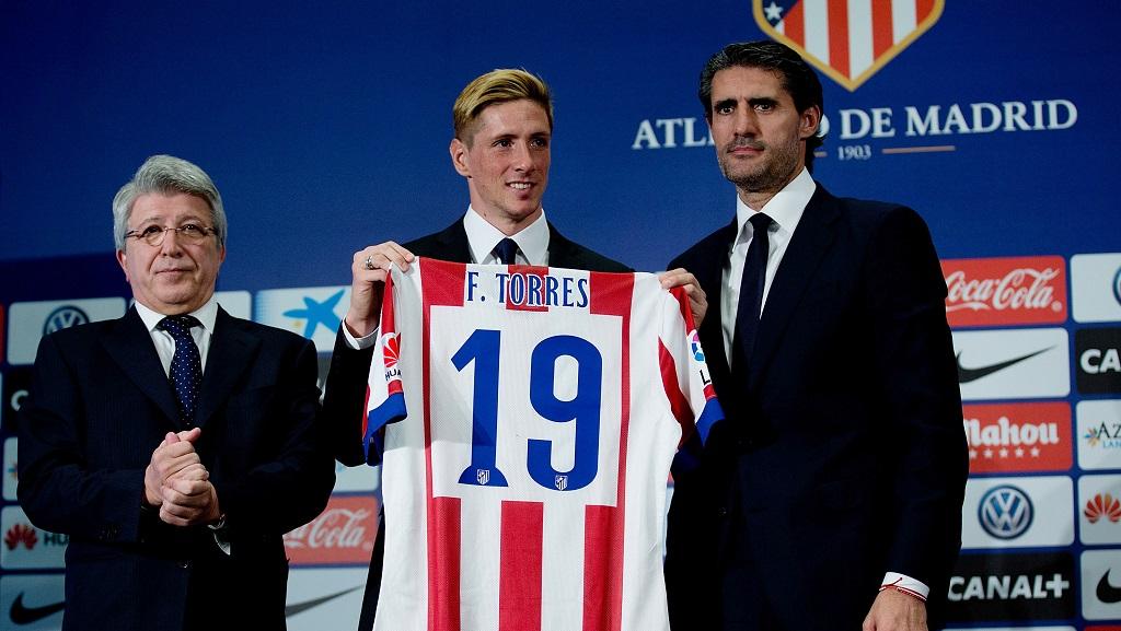 Fernando Torres con Cerezo y Caminero