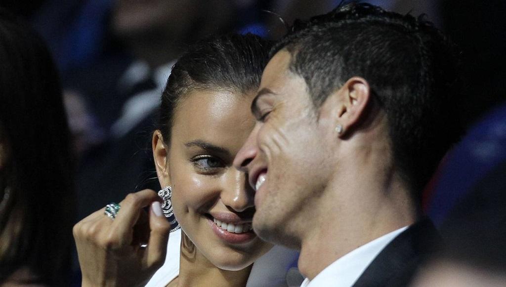 Cristiano Ronaldo e Irina Shayk gala LFP