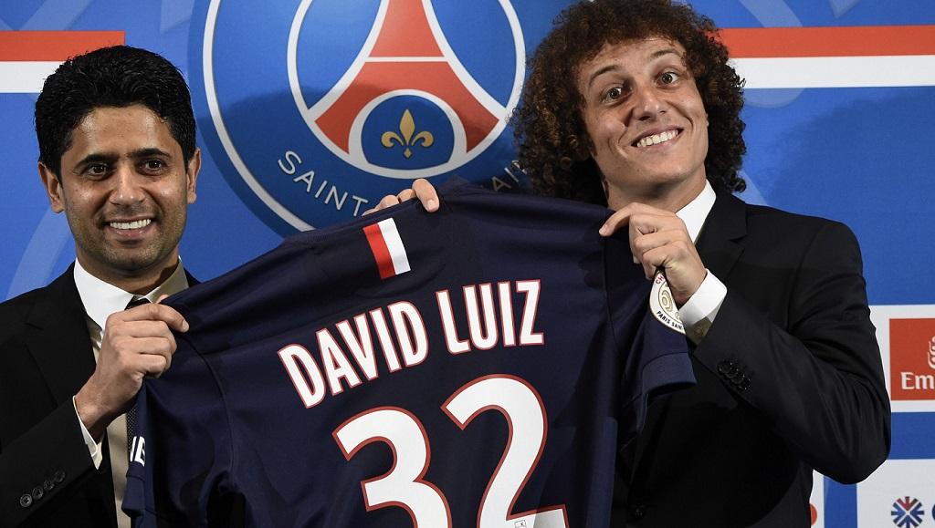 David Luiz presentacion PSG