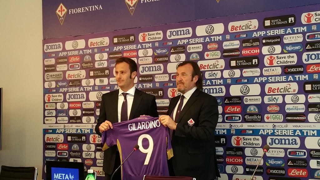 Gilardino Fiorentina 2